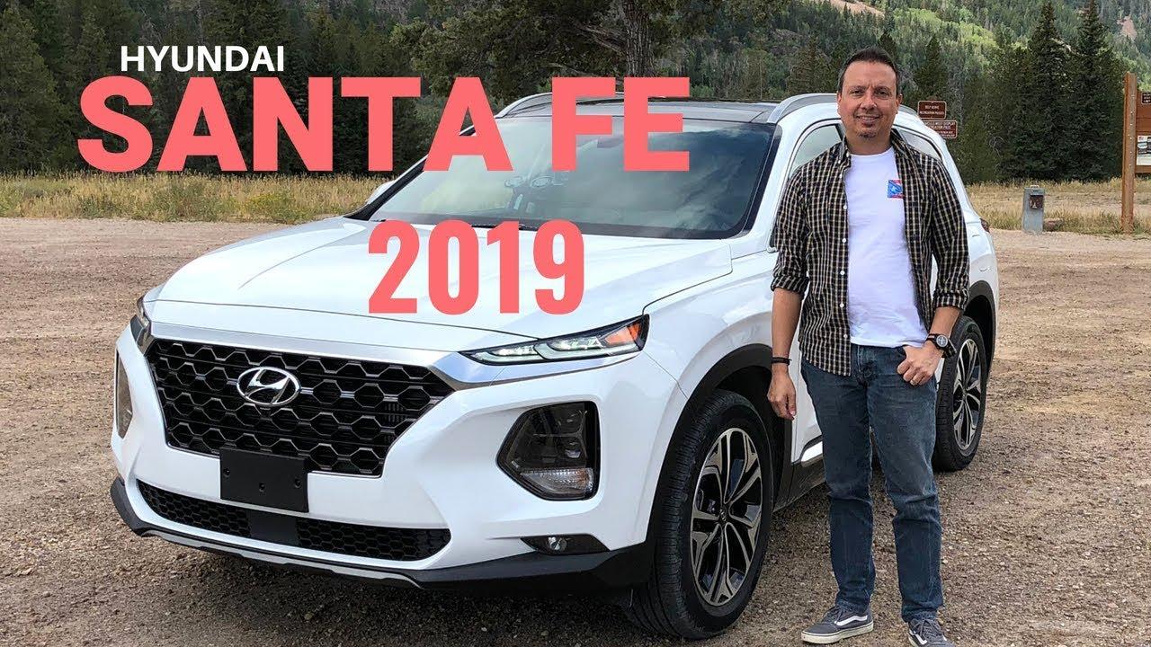 Hyundai Santa Fe 2019 Cambios Detalles Y Prueba De Manejo Youtube