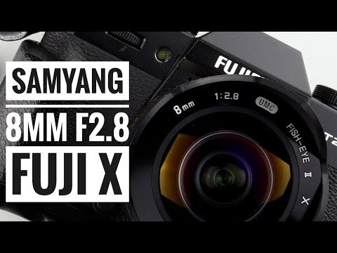 Samyang 8mm F2.8 UMC Fisheye II - Fuji X Series!