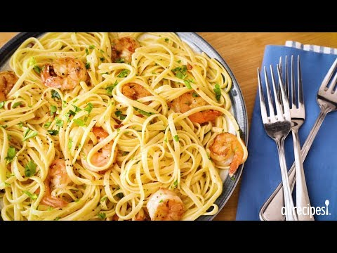 How to Make Shrimp Scampi with Pasta   Shrimp Recipes   Allrecipes.com