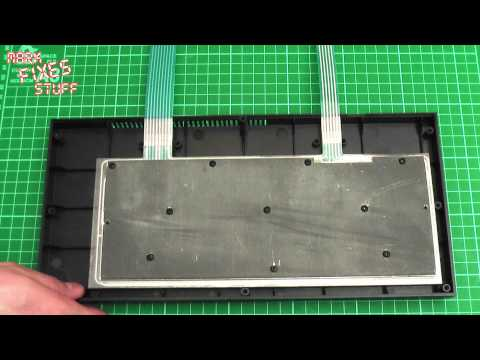 Sinclair ZX 48k 128k Spectrum Repair: How To Fix A 48k/128k Spectrum Keyboard Membrane Replacement