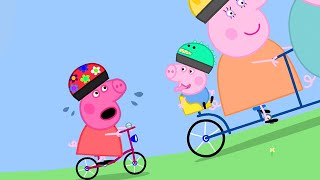 Peppa Pig Official Channel | Stay Fit and Go Cycling with Peppa Pig