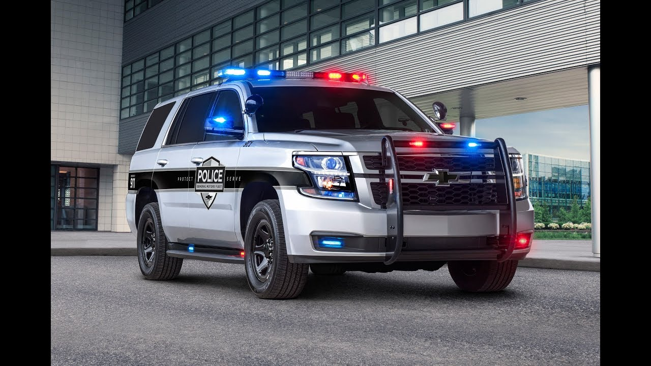 2019 Chevy Tahoe Police Pursuit Suv Washington Dc Auto Show 2018