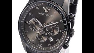 EMPORIO ARMANI AR5889 MENS WATCH SPORTIVO GUNMETAL SILICONE REVIEW アルマーニ ガンメタル レビュー メンズ 腕時計