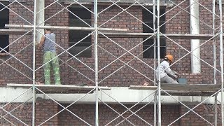 Fast Brickwork - Laying Brick Walls In House Construction