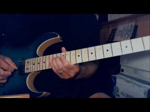 Judas Priest - Rock Hard Ride Free - Guitar Lesson 4 (guitar solo - Glenn Tipton)