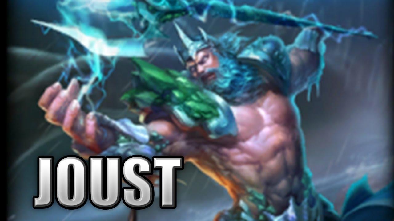 Poseidon Damage Build That Was Intense Joust Smite Season 3