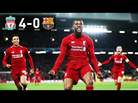 THIS IS WHY FOOTBALL IS THE BEST SPORT IN THE WORLD! | LIVERPOOL 4-0 BARCELONA