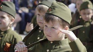 ПОСРАМЛЕННЫЙ ГИТЛЕРЮГЕНД: на Московии прошел парад  «дошкольных войск»