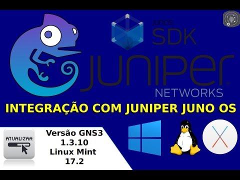 Configurando a Integração do Juniper Juno OS no GNS3 1.3.10 rodando no GNU/Linux Mint 17.2 x64