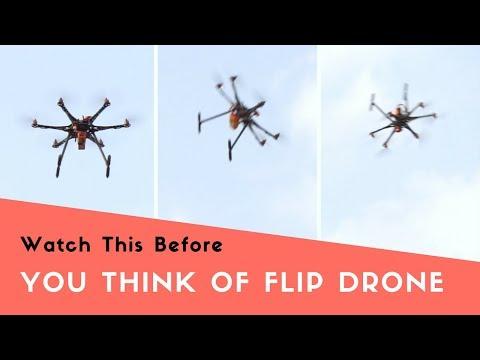 Hexacopter Drone Flip test | Crash? Pass? | Indian Lifehacker
