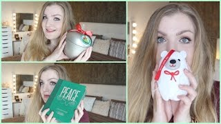 Unboxing The Body Shop Kerst