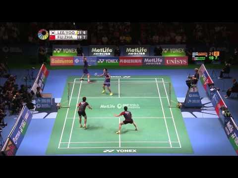 Yonex Japan Open 2015 | Badminton F M5-MD | Lee/Yoo vs Fu/Zhang