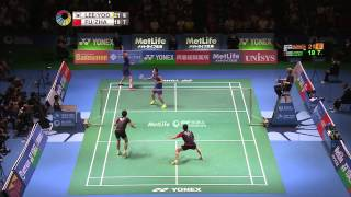 Yonex Japan Open 2015 | Badminton F M5-MD | Lee/Yoo vs Fu/Zhang