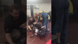 First Start Porsche 1965 engine   912