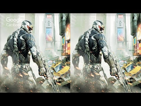 3D CRYSIS VR Videos 3D SBS Google Cardboard VR Virtual Reali
