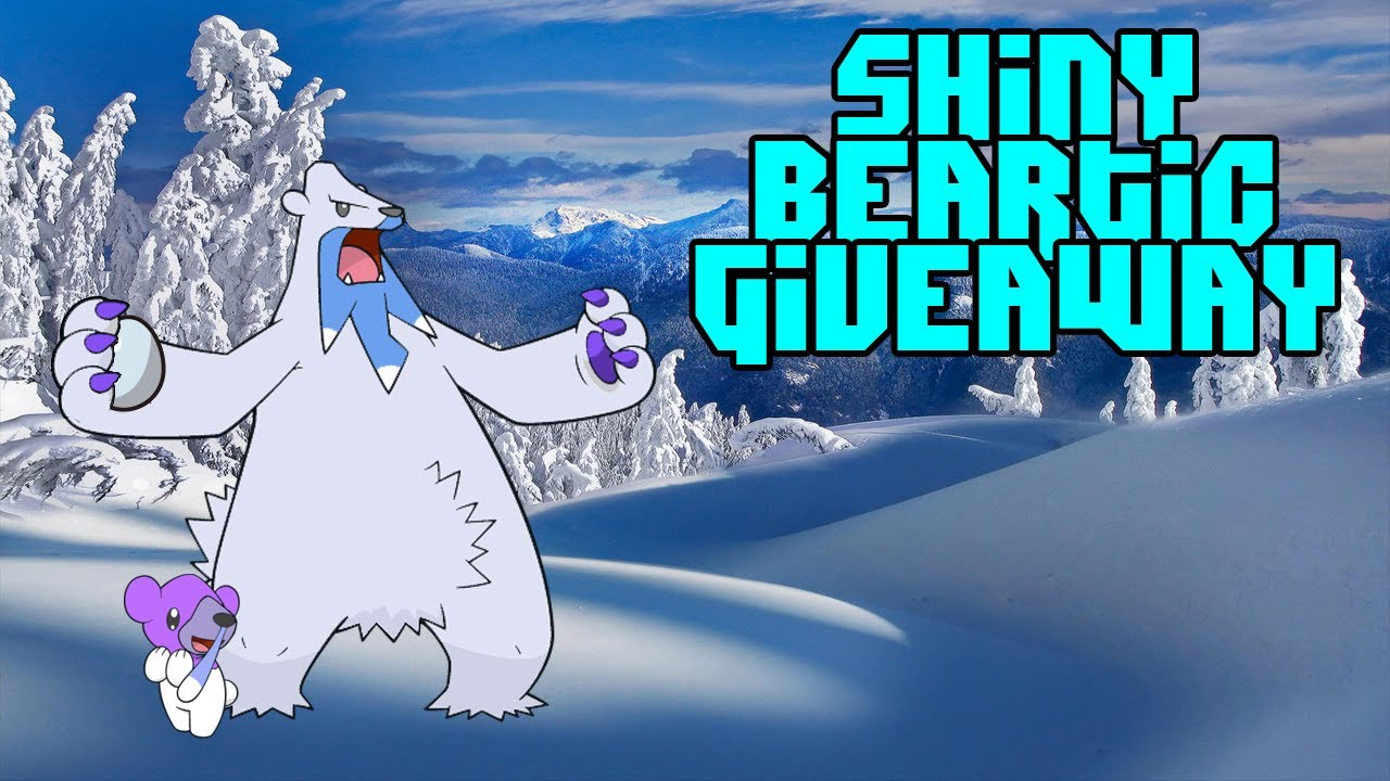 Shiny Beartic Giveaway!!!! [CLOSED] - YouTube