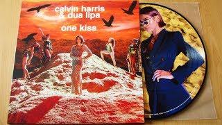 Calvin Harris & Dua Lipa - One Kiss / unboxing vinyl picture disc /