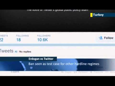 Twitter takes on Turkish ban: social media platform defies PM Erdogan's block