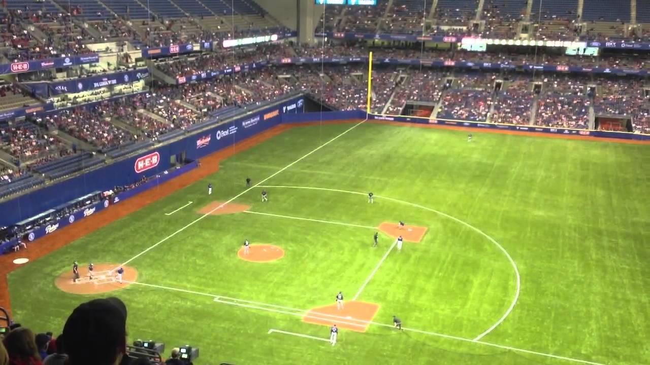 Rangers Vs Padres Alamo Dome San Antonio Texas Youtube