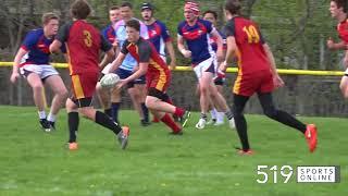 WCSSAA RUGBY - Waterloo Collegiate vs Kitchener Collegiate