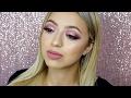 Pretty Pink Glitter Valentines Day Makeup Tutorial | Makeup Geek Eyeshadows