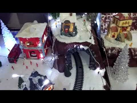 Diy home christmas village decor