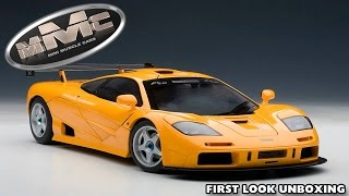 AUTOart 76011 1:18 MCLAREN F1 LM EDITION (First Look Unboxing) NEW 2014!!
