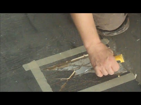 How To Install Hardwood Floor Stagger A Wood Floor Youtube