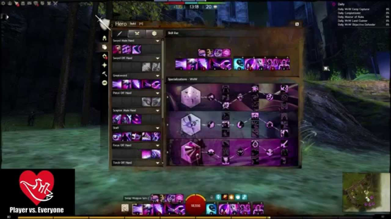 Guild Wars  Power Mesmer Build