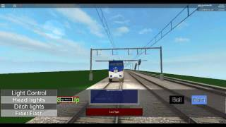 ROBLOX Amtrak Northeast Corridor Train Derailment