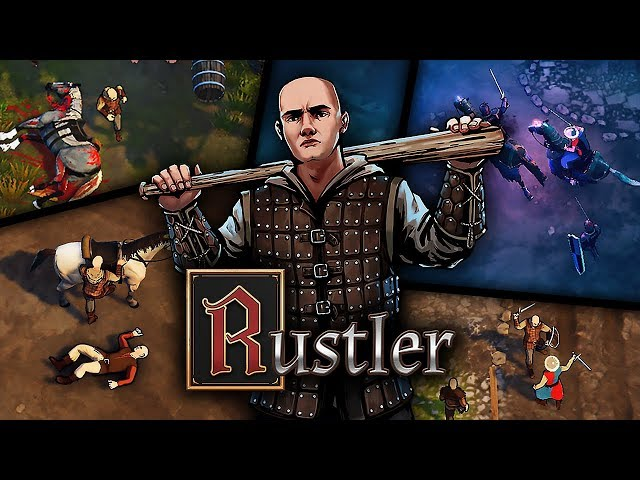 RUSTLER (GRAND THEFT HORSE) Gameplay
