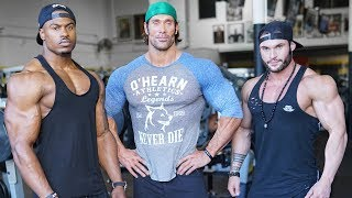 POWER BODYBUILDING SHOULDERS | SIMEON PANDA, MIKE O