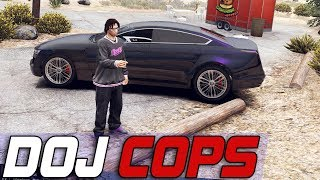 Dept. of Justice Cops #628 - Expanding The Purples