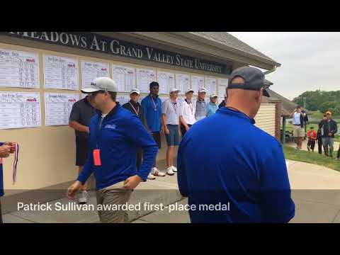 Highlights from 2018 Division 1 boys golf state finals second round at The Meadows at GVSU