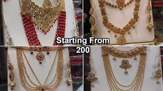 How To Get Cheap Jewellery In Jama Cloth Market Karachi - WholeSale Jewellery Market