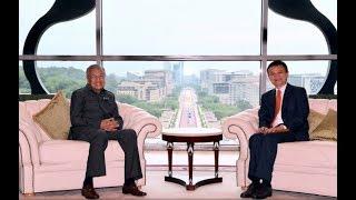 Jack Ma kagum pengetahuan teknologi Dr Mahathir