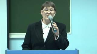 """Любовь Киселева """"Лекции в Политехническом"""" ВятГУ"""