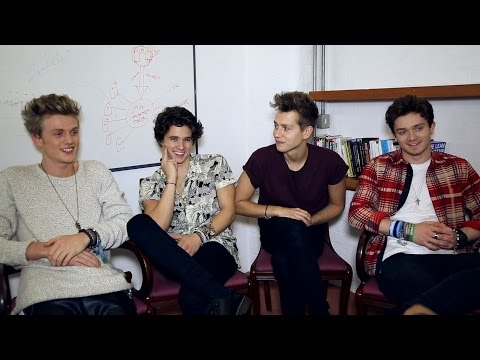 The Vamps talk music, girlfriends and manhood