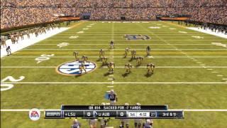 NCAA Football 12 - Kickoff Gameplay (PS3, Xbox 360)