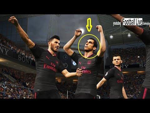 PES 2018 | Chelsea Vs Arsenal | Mkhitaryan Player Of Arsenal | Gameplay PC