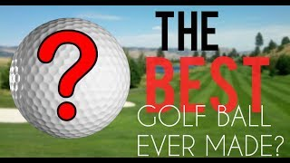 Ranking the best golf balls in golf