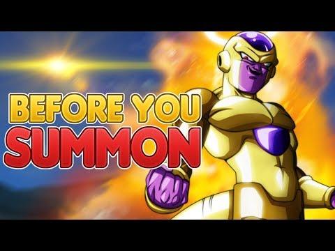 BEFORE YOU SUMMON NEW Angel Golden Frieza! Dragon Ball Z Dokkan Battle