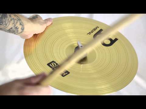 "Meinl HCS 14"" China Cymbal - Trade Show Stock + Video - HCS14CH"