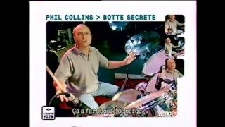 Phil Collins Interview with drums - 1998 M6 Music