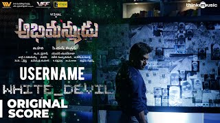 Abhimanyudu | Username White Devil Background Score | Vishal, Arjun | Yuvan Shankar Raja