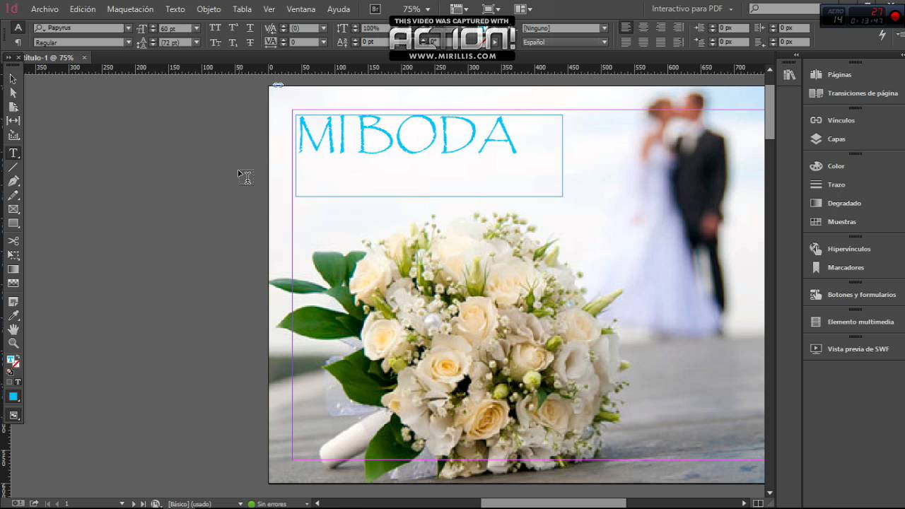 TUTORIAL ADOBE INDESIGN | Crear, Diseñar catalogo/revista digital ...