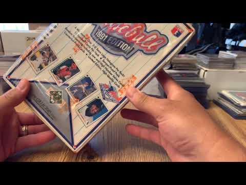1991 Upper Deck Box BREAK! Michael Jordan SP?????