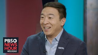 Andrew Yang makes a case for the 'freedom dividend'