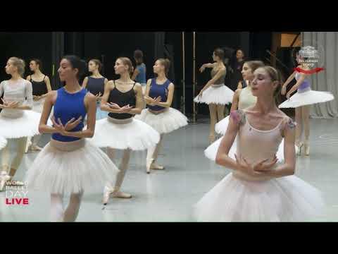 """La Bayadere"" Rehearsal Bolshoi  World Ballet Day 2017"