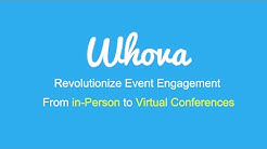 Whova for Virtual Conferences and Events